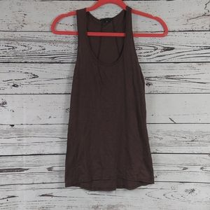 The Refinery brown tank top size small
